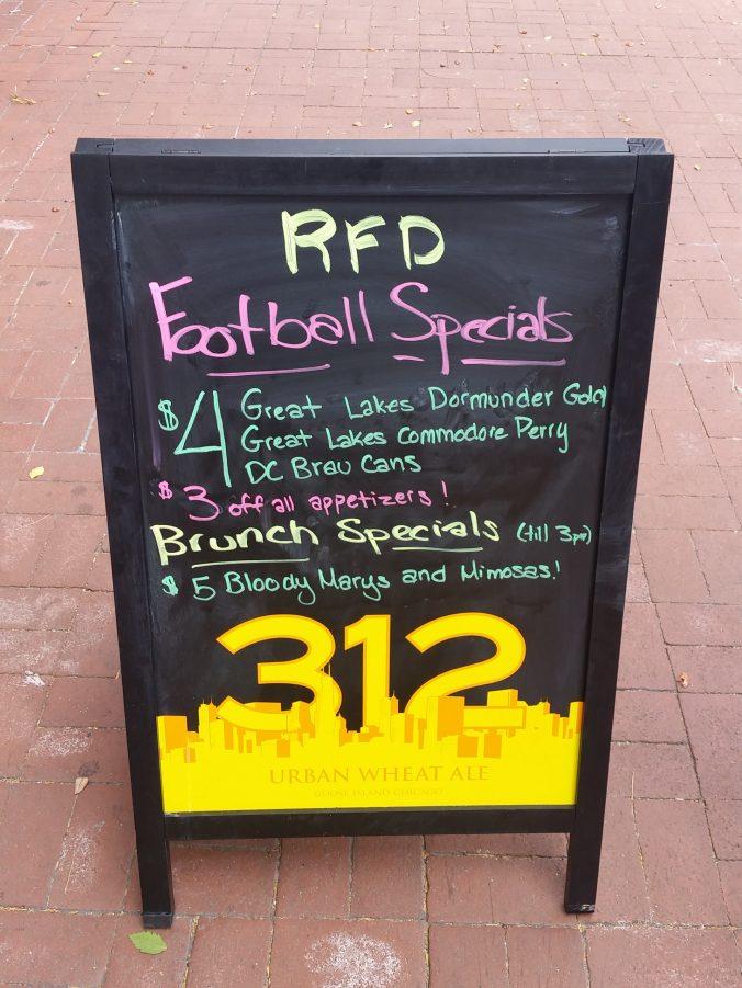 RFD specials