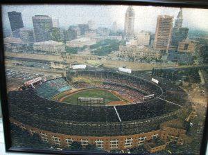 Cleveland Municipal Stadium puzzle