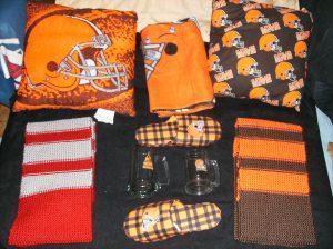 scarf raffle package